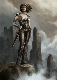 Asha Greyjoy bojovnice
