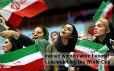 5.) Iran isn't exactly known to the rest of the world as a bastion of gender equality (at least, not for the last several decades). The official reason for the law is that the clergy fears that modesty might not be observed at a sporting event if women were in attendance. This included televised sporting events. Female sports fans, though, have long protested these laws, staging protests, sneaking into stadiums and even risking beatings from security guards. During the world cup, dozens of…