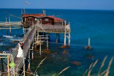 Trabocchi, a place between sea and sky