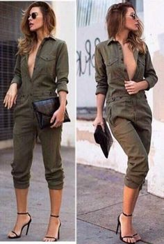 Uk Womens Plus Size V-Neck Clubwear Party Jumpsuit Bandage Ladies Playsuit Rompers Women, Jumpsuits For Women, Long Sleeve Bib, Discount Womens Clothing, Bandage, Long Romper, Long Jumpsuits, Playsuit, Casual Styles