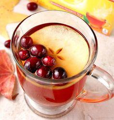 Apple Cranberry Slow Cooker Tea   19 Hot Tea Recipes To Beat The Cold Weather   https://homemaderecipes.com/hot-tea-recipes/