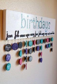 DOTHEKIT: No queremos que se nos vuelva ... #Calendario #Cumpleaños