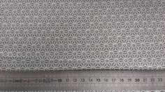 Saki gris - Les Carollaises, tissu enduit au mètre, création d'accessoires trousses, sacs, Mélamine Rice, Jolis accessoires enfants
