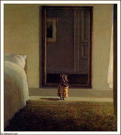 'Kaninchen vor dem Spiegel' von Michael Sowa