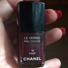 CHANEL VAMP NAIL POLISH Very rare color!  Vamp extremely popular. CHANEL Makeup