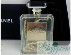 c6ac39da2e Chanel No.5 Perfume clutch bag replica