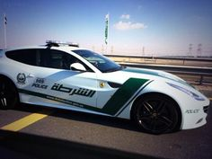 No Way ~ Really ~ This is an actual normal routine police car in Dubai.