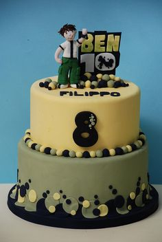 cake ben 10 by Alessandra Cake Designer, via Flickr