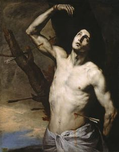 Author Ribera, José de (Spanish) Title Saint Sebastian Chronology 1636 Technique Óleo Support Lienzo Dimensions 127 cm x 100 cm