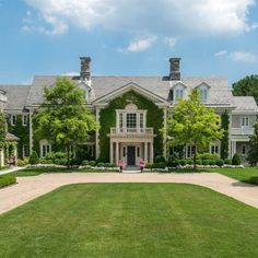 Magnificent stone Georgian on 5.34 acres with pool house and pool on coveted Clapboard Ridge Road in mid-country Greenwich. Architectural details and tasteful refinements suggest Pre-war substance and quality, yet the house features modern amenities throughout four floors with 5 car garage.&nbsp