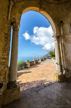 Villa Cimbrone - Ravello, Italy. My husband and I spent a glorious day here.