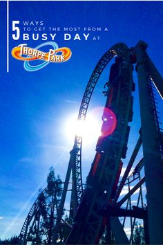 Thorpe Park, Top Ride, Ticket Holders, Main Attraction, Do You Really, 5 Ways, About Uk, Business, Travel