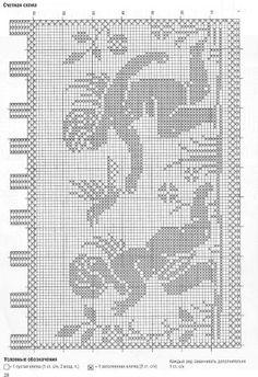 Firanki - TitinaKrkM - Álbumes web de Picasa Crochet Angels, Crochet Birds, Crochet Art, Crochet Home, Filet Crochet, Crochet Stitches, Cross Stitching, Cross Stitch Embroidery, Cross Stitch Patterns