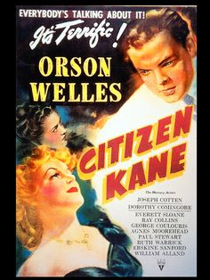 Citizen Kane (Poster; Turner Classic Movies)