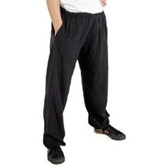 Show details for Light Weight Kung Fu Pants Karate Equipment, Tai Chi Clothing, Kung Fu Pants, Sheer Fabrics, Active Wear For Women, Wearing Black, Elastic Waist, Tiger Claw, Harem Pants