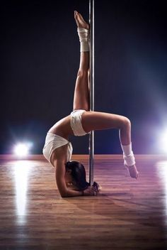 Pole Dance - fitness - and if you think it isn't, try it. #PoleDanceSilhouette
