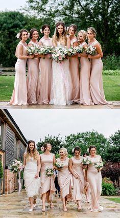 55abec616375 Mermaid Backless Pink Bridesmaid Dresses, Long Bridesmaid Dresses For  Wedding, Fashion Bridesmaid Dresses Rustic