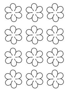 Free Coconut Template Or Printable - Yahoo Search Results Yahoo Image Search Results Share these cute flowers today with your classmates, friends and family! Customize these flowers anyway you can with free printable templates. Paper Flowers Diy, Felt Flowers, Flower Crafts, Fabric Flowers, Paper Butterflies, Royal Icing Templates, Royal Icing Transfers, Owl Templates, Applique Templates