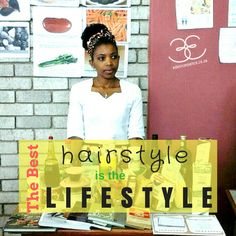 natural hairstyle lifestyle