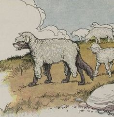 Aesop's Fables - The Wolf In Sheep's Clothing By Milo Winter
