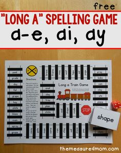 Long a spelling patterns