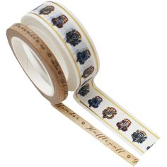 Shop patterend Washi Tape online and discover our exciting range of gold foil Washi Tapes from Little B. Harry Potter Crest, Christmas Envelopes, Washi Tape Set, Tom Felton, Hobbies And Crafts, Two By Two, Stationery, Paper Crafts, Crests