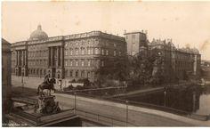 Berlin, Kurfürst Brücke und Schloss Platz, um 1885.