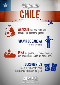 What is it like to travel to Chile – Travel World Packing Tips For Travel, Travel List, Solo Travel, Travel Guide, Travel Words, Travel Quotes, Places To Travel, Travel Destinations, Perfume Jean Paul