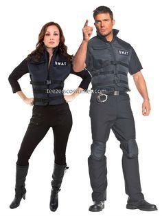swat team costume couple - Google Search