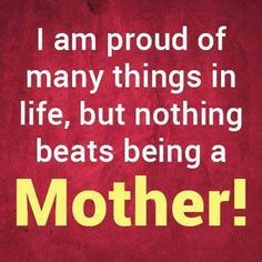Being a mom is wonderful and hard at the same time. If you are not a mom you don't understand that.