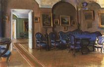 Gatchina.Interior - Zinaida Serebriakova