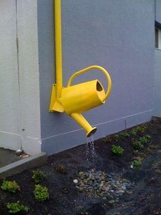 Rain Water Drain Sprinkler http://sulia.com/my_thoughts/502df936-e433-4442-b023-a8dd99c833c4/?pinner=125502693&