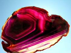 Look at this fascinating Agate! I think agates has such wonderful variations.
