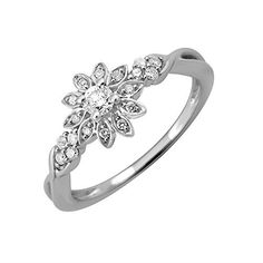 IGI Certified 14k White Gold Diamond Engagement Ring Band (1/5 Carat).More info for earrings for bridesmaids for wedding;pearl earrings;reception jewellery for bride;wedding rings;designer rings could be found at the image url.(This is an Amazon affiliate link and I receive a commission for the sales)