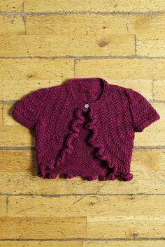 Ravelry: Little Mermaid Bolero pattern by Kyoko Nakayoshi