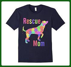 Mens Rescue Dog Mom T Shirt, Mutt Rescue T Shirt, Shelter Dog Tee XL Navy - Animal shirts (*Amazon Partner-Link)