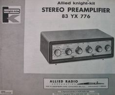 Knight Kit Stereo Preamplifier