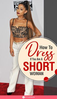 How To Dress If You Are A Petite Or A Short Woman: We've listed dressing ideas, fashion tips, Dos & Don'ts, and a lot more to give you an idea about how to dress up for your body type. Here's a 360 degree tour of everything there is to know about out Short Women Fashion, Fashion For Petite Women, Petite Fashion Tips, Petite Outfits, Mode Outfits, Fashion Tips For Women, Short Girl Fashion Curvy, Woman Fashion, Short Girl Style