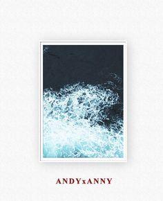 Ocean Print Ocean Photography Ocean Decor Ocean Art by ANDYxANNY