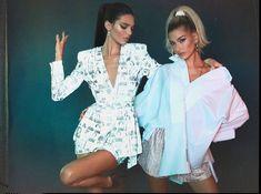 Imagen de kendall jenner hailey baldwin and model Hailey Baldwin, Las Jenner, Kardashian Jenner, Ashley Graham, Justin Bieber, Hayley Bieber, Ariana Grande, Big Girl Fashion, Womens Fashion