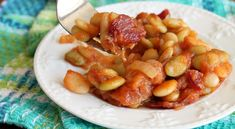 Baked beans are such a great side dish for Summertime barbecues. This simple Barbecued Lima Beans Recipe is my all time favorite. Today we welcome back our food contributorMaria fromReal Life Dinner.Last month she shared the delicious Pistachio Pineapple Cake that was a hit with you all! Today she is sharing her favorite Baked Bean …