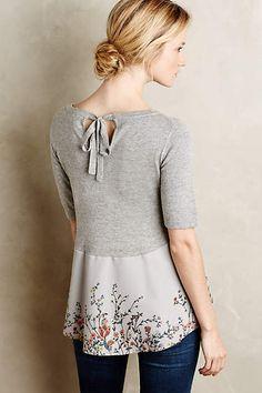 Quiero hacerme una camisa como esta de anthropologie.com