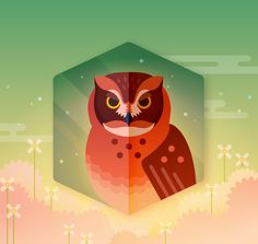 """다음 @Behance 프로젝트 확인: """"Owls Go Twit Twoo"""" https://www.behance.net/gallery/38676755/Owls-Go-Twit-Twoo"""