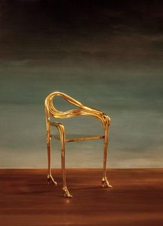 "Leda Armchair, Sculpture Inspired by Salvador Dali ""Femme á la téte rose"" 1935 8"