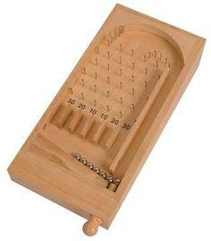 Basic Wooden Pinball Game