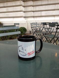 "Autographed ""Back to Broadway"" mug"