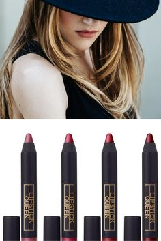 """The perfect velvety lip for fall. Lipstick Queen Cuipid""""s Bow Pencil is a two-trick wonder, doubling as both a lip liner and lip stick."""