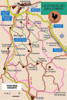 SS222 or Via Chiantigiana, takes you through Tuscany's #wine region and it is in the wineries in this tiny area of #Italy that the famous Chianti wine is produced.