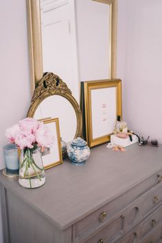 Room Details: Serena & Lily Bed, Julia B Linens, Anthropologie Nightstands, Vintage Lamps, Wisteria Dresser, Serena & Lily Bench, Ariana Belle Throw Pillows, Serena & Lily Throw Blanket, Restoration Hardware Drapes, Home ...