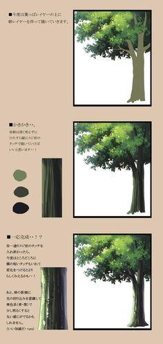 木のメイキング。 [2]